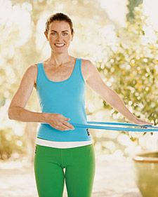 Ab Workout: Hula Hoop. Doesn't sound like much of a workout, but it does sound like fun!