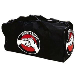 "ProForce Kenpo Karate Pro Bag by Pro Force. Save 17 Off!. $24.77. You'll look like a ""pro"" carrying your gear in one of our bags! And show off your favorite martial art or symbol with a leatherette Pro bag. With a silkscreened design on both end panels and on one side panel, this bag will keep you prepared and organized for every activity. Top single zipper opening spans the length of the bag for easier loading and unloading. Welted seams for better durability. You can carry this bag ..."