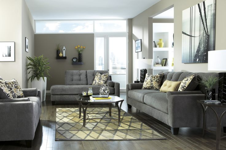 1000+ ideas about Charcoal Living Rooms on Pinterest : Charcoal Sofa, Living Room Sets and Room Set
