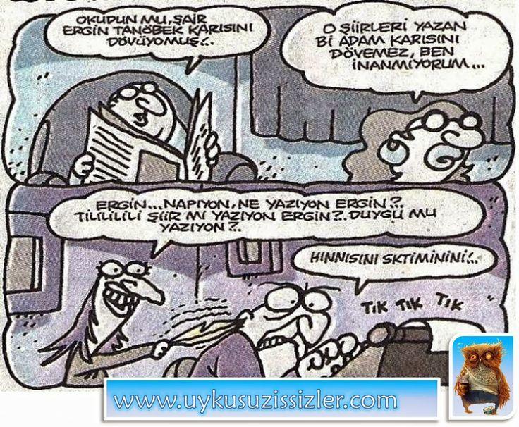 Karikatür: Hinnisini sktiminini!..