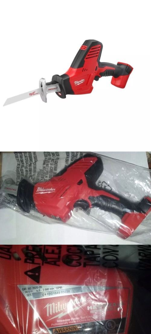 tools: New Milwaukee M18 18 Volt Lithium Ion Hackzall Reciprocating Saw Model 2625-20 -> BUY IT NOW ONLY: $89.99 on eBay!