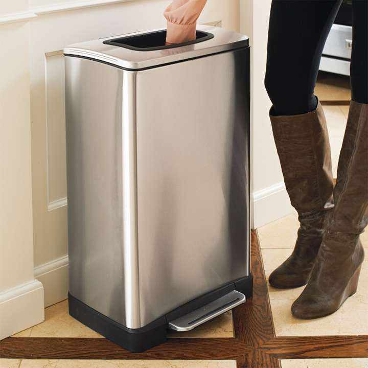 Stainless Steel Manual Trash Compactor