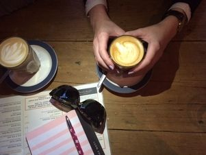 Melbourne Bloggers catch up at 1000 Pound Bend (Thousand Pound Bend) - Melbourne hipster cafe