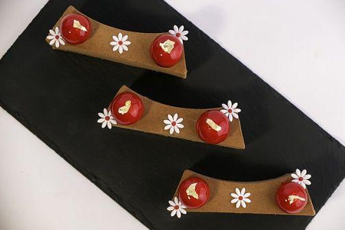 Пирожное Шоколадно-карамельное наслаждение