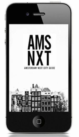 AMSTERDAM NEXT ON THE GO..... WITH OUR NEW APP