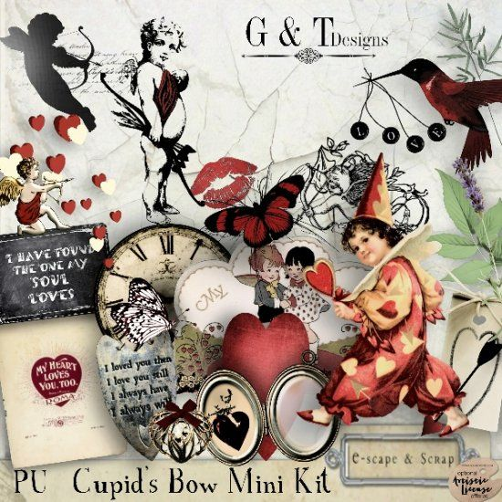 G & T DESIGNS CUPID'S BOW MINI KIT
