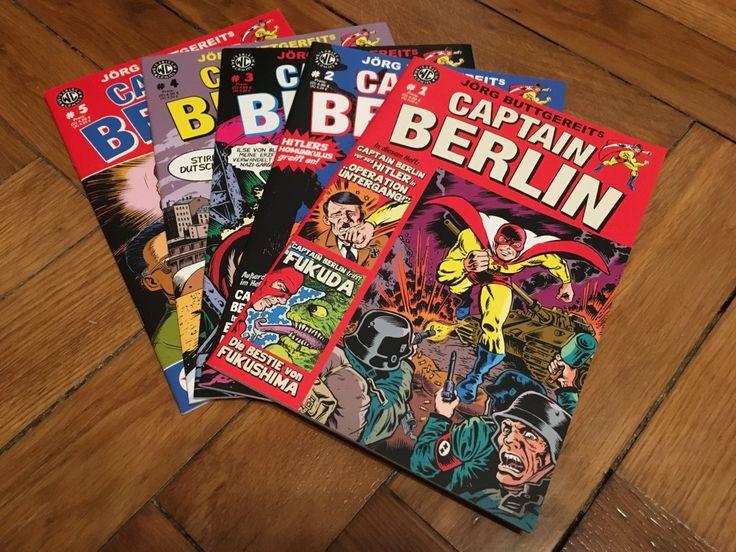 Ok, Captain Berlin kam nach Friedenau. Genauer gesagt 5 Comic Hefte des German Superhero kamen heute mit der Deutschen Post.