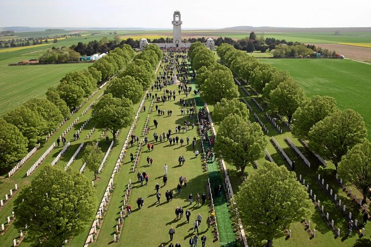 Villers-Bretonneux Memorial in France - can work it to fit with the 100th ANZAC Day?!!
