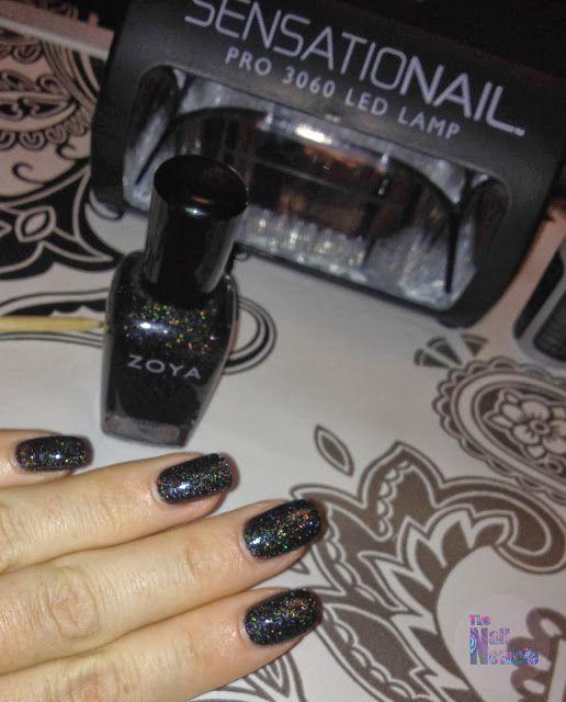 Nail Newbie: SensatioNail Gel Polish Starter Kit - How to use with regular nail polish!