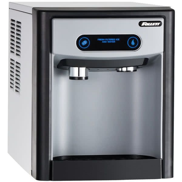 Follett 7ci100a Iw Nf St 00 7 Series Air Cooled Countertop Ice Maker And Water Dispenser With 7 Lb Storage Capacity 115v Countertop Water Dispenser Commercial Ice Maker Water Dispenser