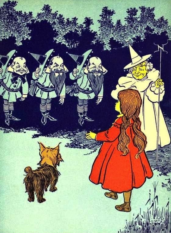 60 best vintage photo ref images on pinterest vintage photography illustration for the wonderful wizard of oz by l frank baum 1900 fandeluxe Gallery