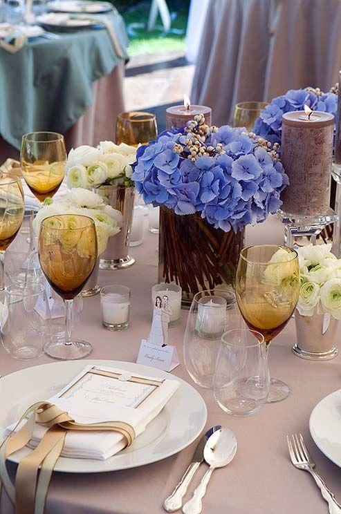 Flower of choice Hydrangeas, Wedding Flowers, Spring, Summer, Fall Flowers, Colors || Colin Cowie Weddings