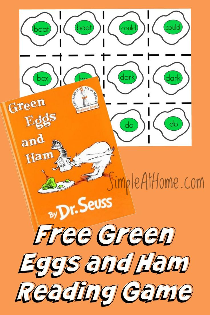 FREE Green Eggs and Ham Game