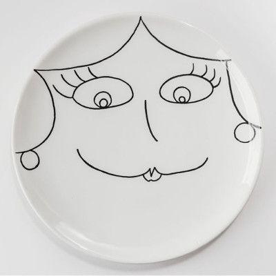 Ceramica Dipinta a mano Persona 2