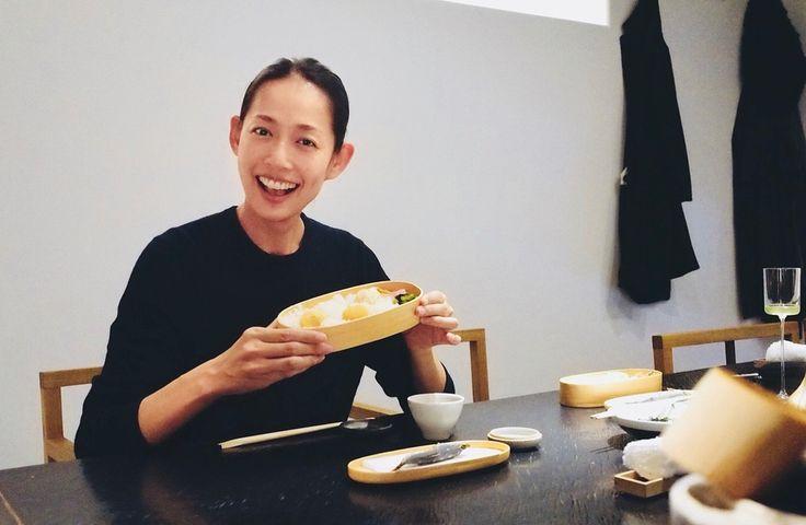 simple is best! #栗おこわ #曲げわっぱ #櫻井焙茶研究所 #小布施の栗 #OBENTOBOX #理想的な食事 #TOKYO #JAPAN