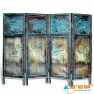 urban screen room divider screen with painting finish