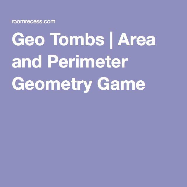 Geo Tombs | Area and Perimeter Geometry Game
