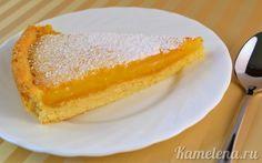 Лимонный пирог/ Крем: 2 лимона (100-120 мл сока + цедра 1 лимона) 2 яйца 200 г сахара 50 г масла 30 г крахмала