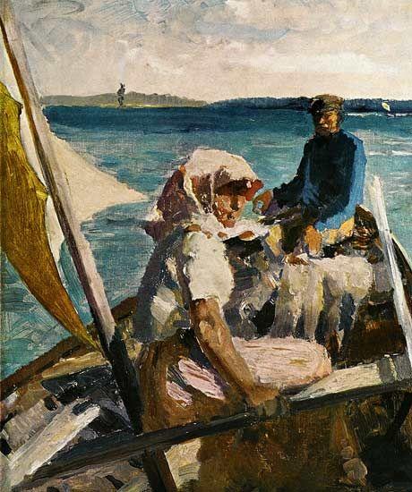 Al mare - Albert Edelfelt