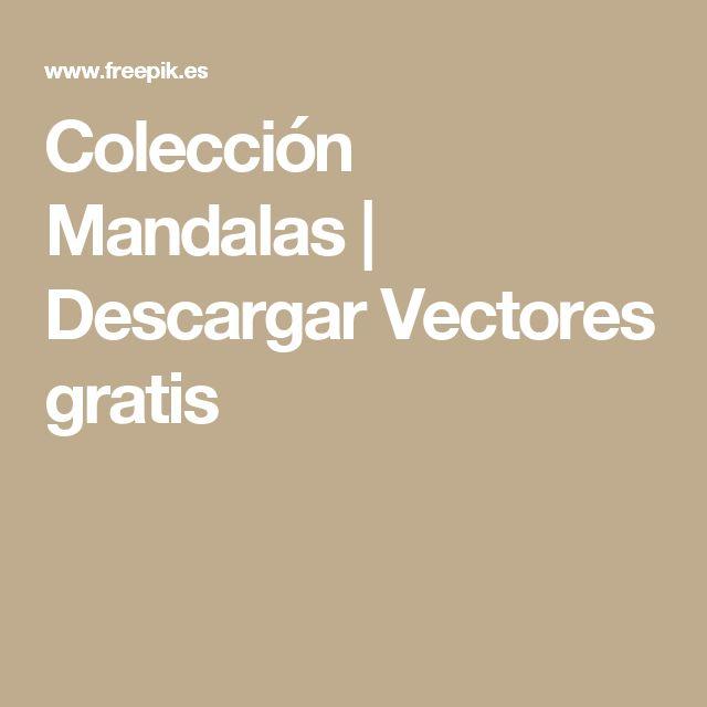 Colección Mandalas | Descargar Vectores gratis