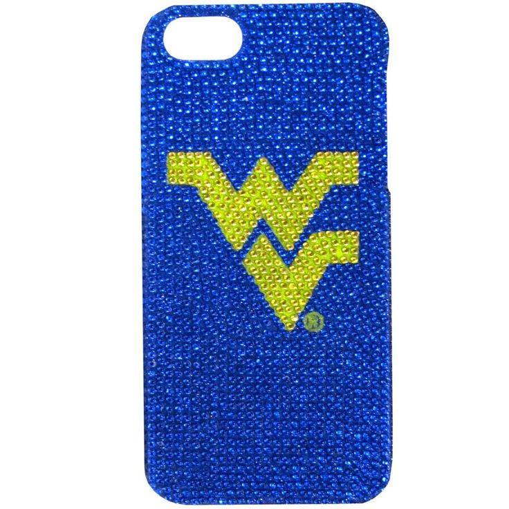 """Checkout our #LicensedGear products FREE SHIPPING + 10% OFF Coupon Code """"Official"""" W. Virginia Mountaineers iPhone 5/5S Glitz Snap on Case - Officially licensed College product Fits iPhone 5/5S phones Snap on protective case Shimmer and shine your love of the game with this sparkling case W. Virginia Mountaineers logo - Price: $20.00. Buy now at https://officiallylicensedgear.com/w-virginia-mountaineers-iphone-5-5s-glitz-snap-on-case-c5gl60b"""