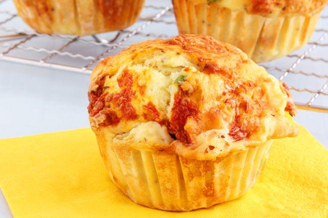 Muffin déjeuner au jambon et poivron rouge - Nautilus Plus | Nautilus Plus