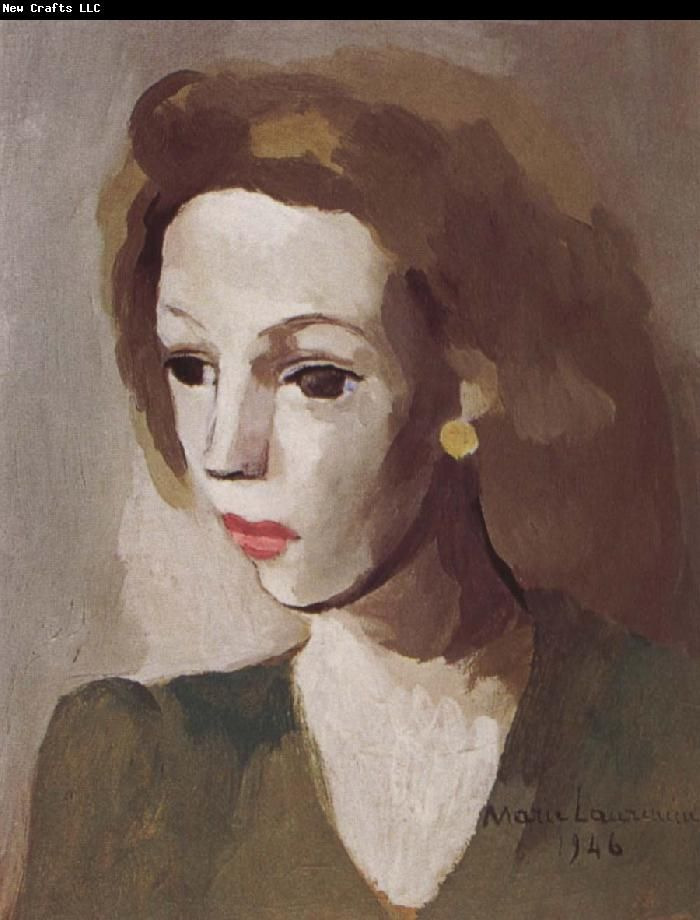 Portrait of Jirelina  by Marie Laurencin