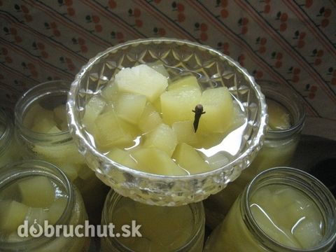 Fotorecept: Tekvicový kompót s ananásom