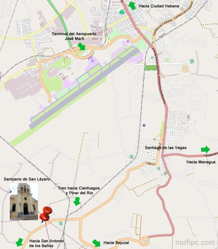Mapa que muestra la ubicaci n e indica c mo llegar al for Como llegar al ministerio del interior