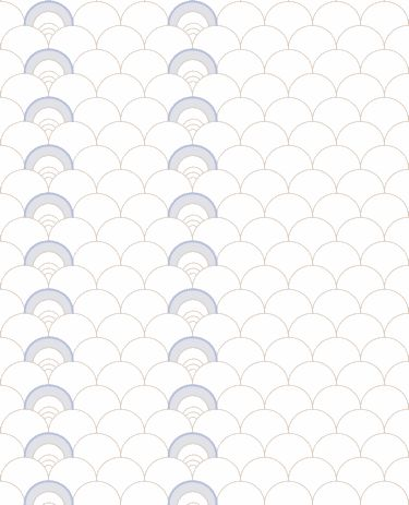 $180 Mme. Jeanne - Argnaut - Artisanal Wallpaper from The Wallpaper Collective