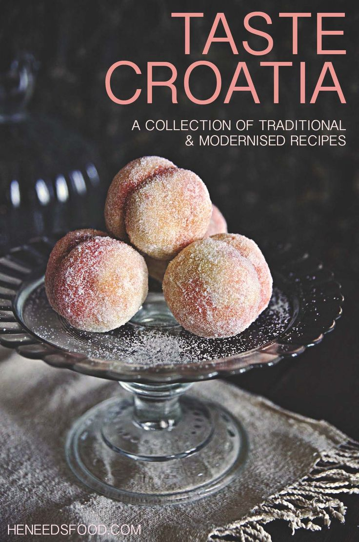 Croatian recipes - a collection of traditional and modernised recipes by heneedsfood.com