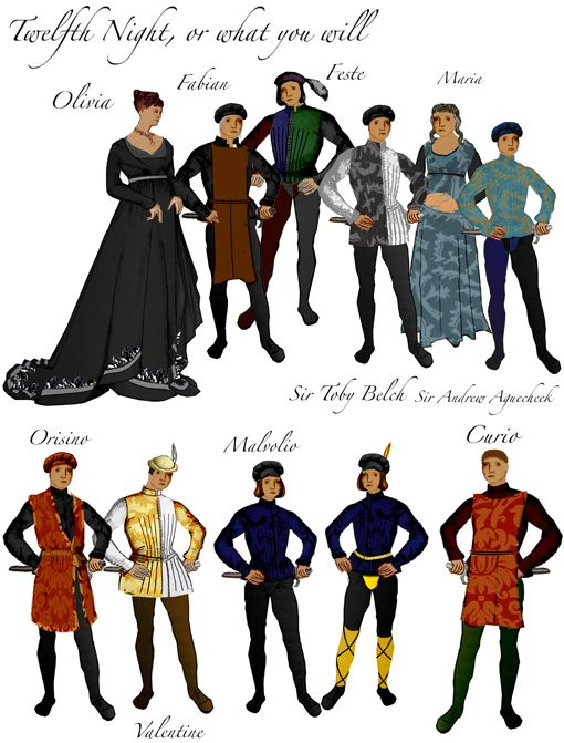 the shakespearian characters in twelfth night essay Essay on use of disguise in shakespeare's twelfth night almost the first thing that comes to our mind when we think of a night essay is 'twelfth night' by shakespeare, and undoubtedly, the most interesting aspect of this play is the incredible use of disguise.
