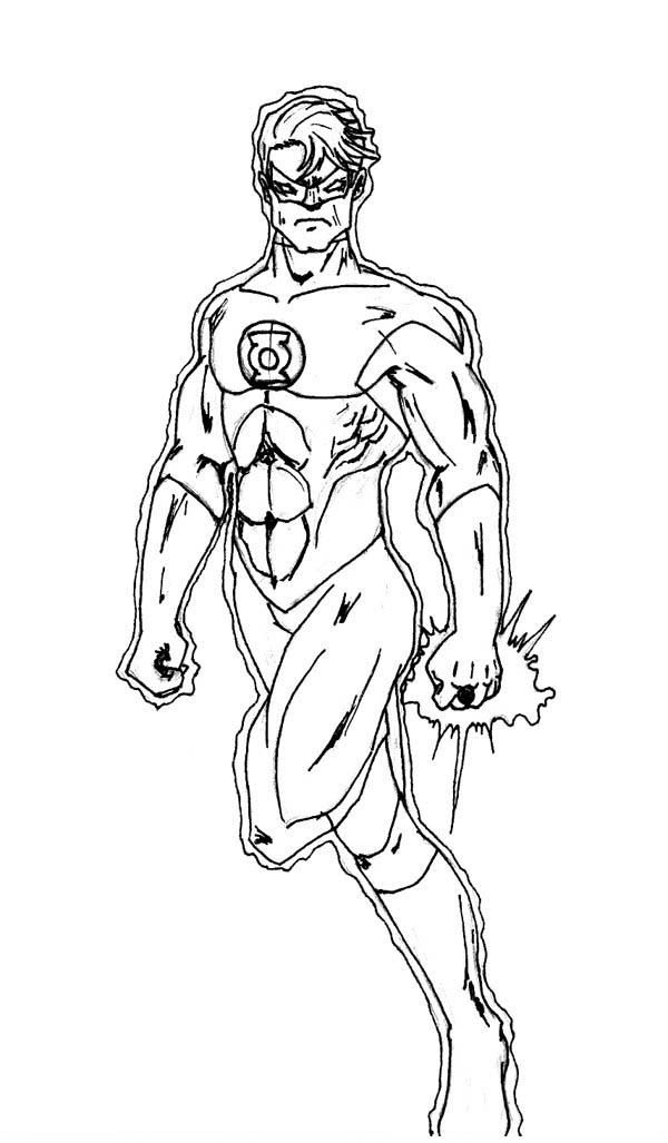 Green Lantern Coloring Pages Free To Print Coloring Pages Fruit Coloring Pages Flower Coloring Pages