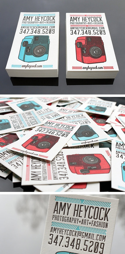 Business cards by Print & Grain