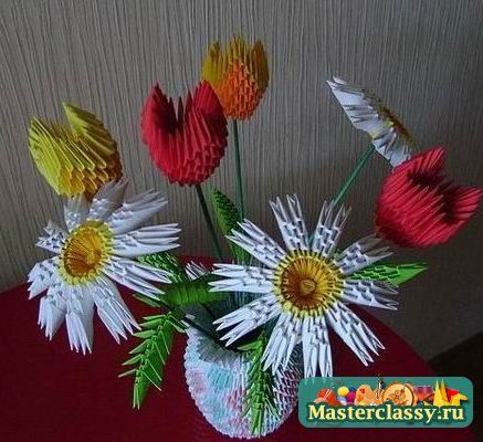 Цветы из бумаги для акварели своими руками фото 994
