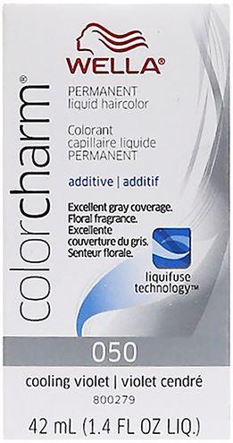 Wella Color Charm Liquid Permanent Hair Color #050 Cooling Violet
