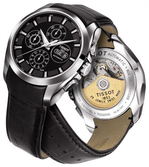 Tissot Couturier Automatic Chronograph Valjoux   T035.614.16.051.00