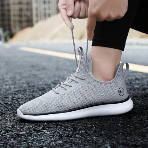 bfbed6a926d BeiWeiTe Hot Sale Men s Running Shoes Trainers Gym Sports Sneakers For Man  Breathable Big Size Light Outdoor Trail Walking Shoes