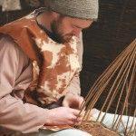Fadó Viking Village, Winterval 2012,20, Basket Weaving