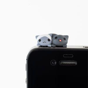 Crunchyroll - Twitter Phenomenon Nya Nya Cats Protect iPhone Headphone Jack