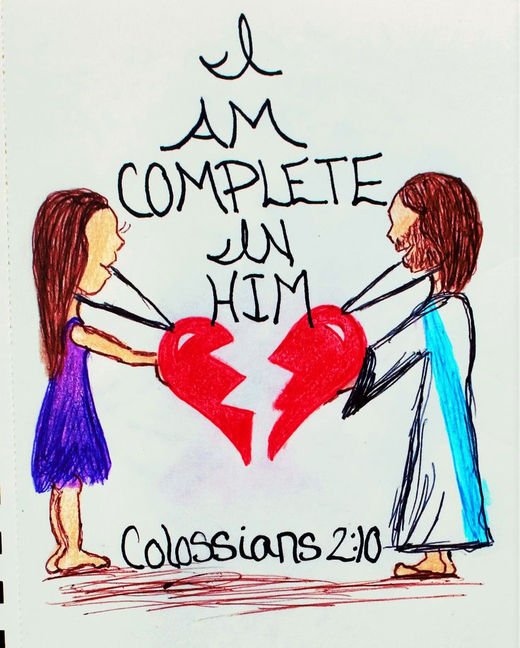 """""""So you are also complete through your union with Christ, who is head over every ruler and authority."""" Colossians 2:10 (Scripture Doodle of encouragement)"""