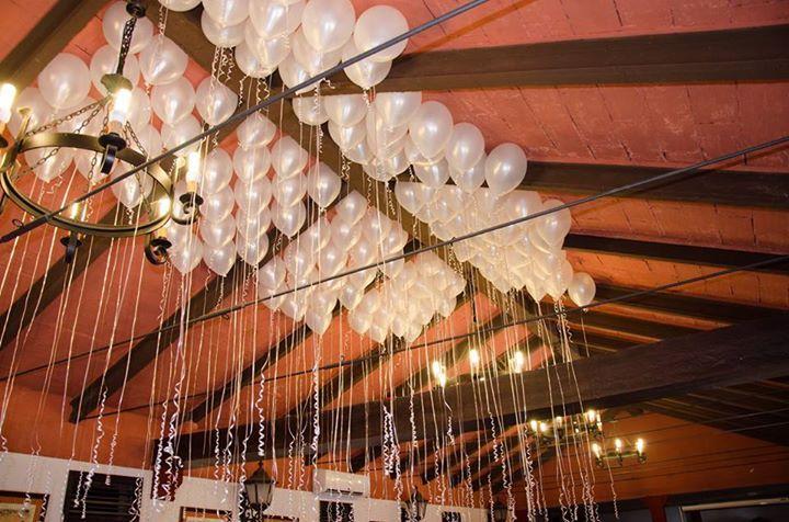 Globos con mensaje #boda #diseño #decoración #decoration #weddings #balloons #white http://victoriahidalgocatering.com/