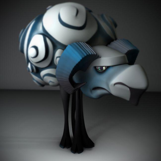 3d character model    polycount.com