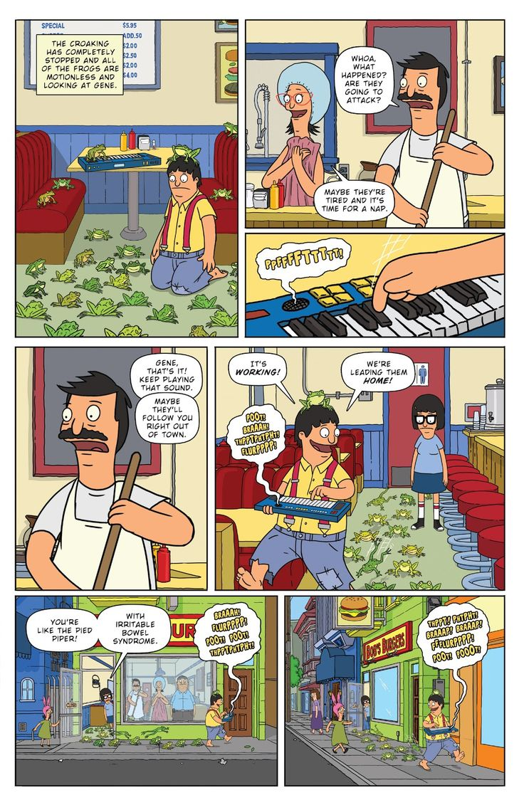 Bob's Burgers (2014) Issue #3 - Read Bob's Burgers (2014) Issue #3 comic online in high quality
