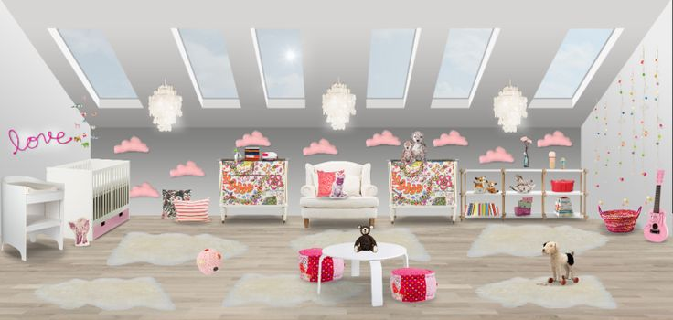 Baby girl`s bedroom