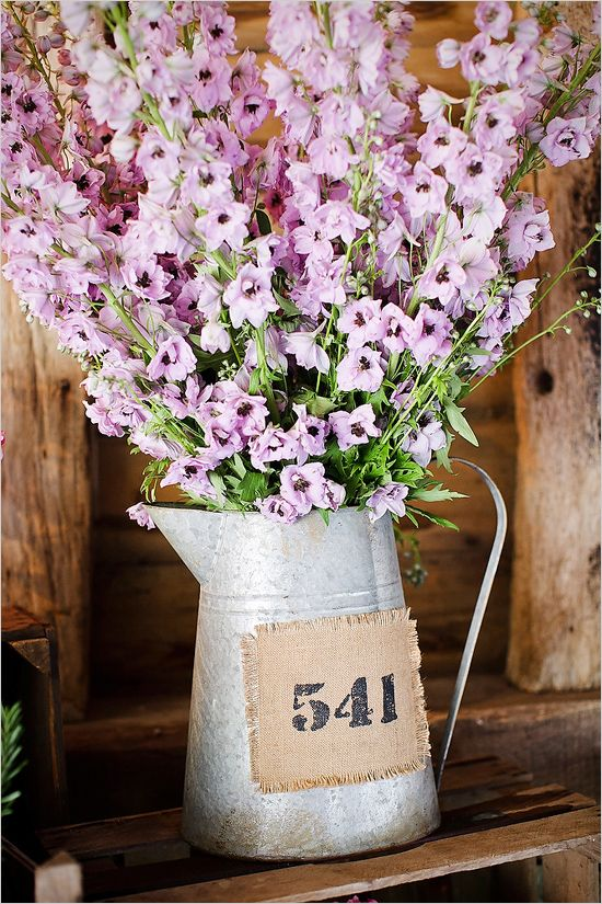 tall florals in a tin