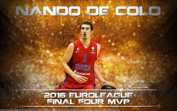 Wallpaper of Nando De Colo, MVP of 2016 Euroleague Final Four. Download full size of wallpaper at - http://www.basketwallpapers.com/France/Nando-De-Colo/nando-de-colo-2016-euroleague-f4-mvp-wallpaper.php :)
