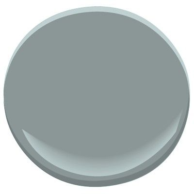 Benjamin Moore Brewster Gray: blue-gray, a Candice Olson designer color pick