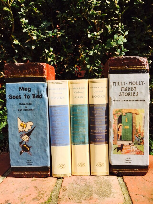 Childhood favorite brick books published by Geegan House