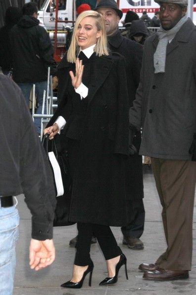 Margot Robbie - Margot Robbie Promotes 'The Wolf of Wall Street'